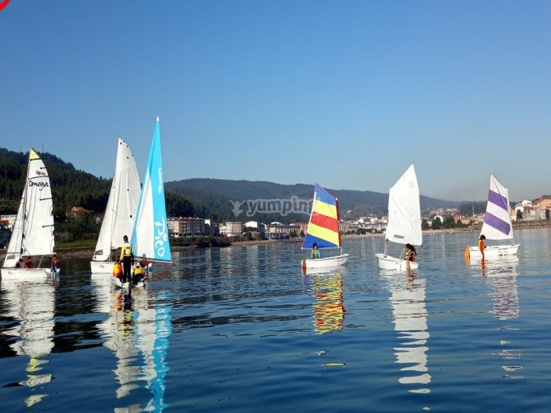 Sailing trip for children