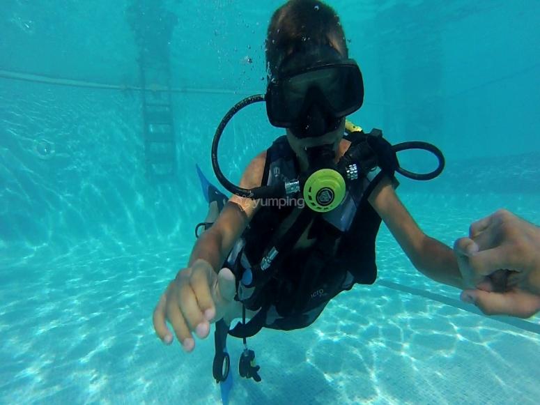 Prácticas en aguas confinadas
