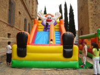 Castle with clown in Ciudad Real