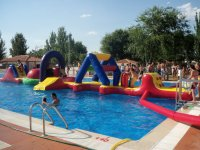 Inflatables for the pool in La Mancha