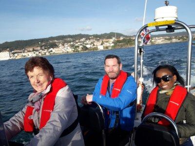 Paseo en barco por la ría de Pontevedra