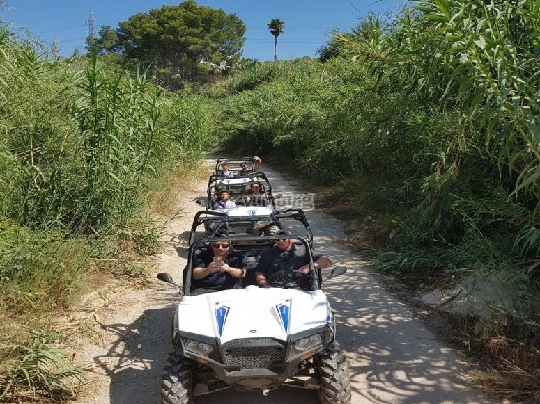 Buggy route in Huerta de Dénia