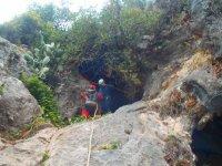 descenso en cuevas