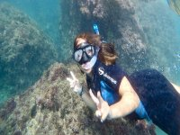 Guided snorkeling tour cliffs Maro Cerro Gordo 2h
