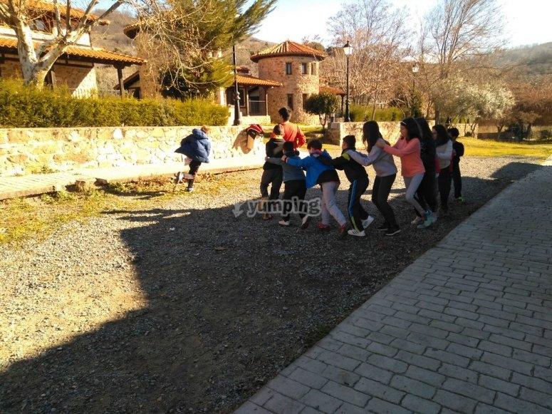 Jugando en grupos