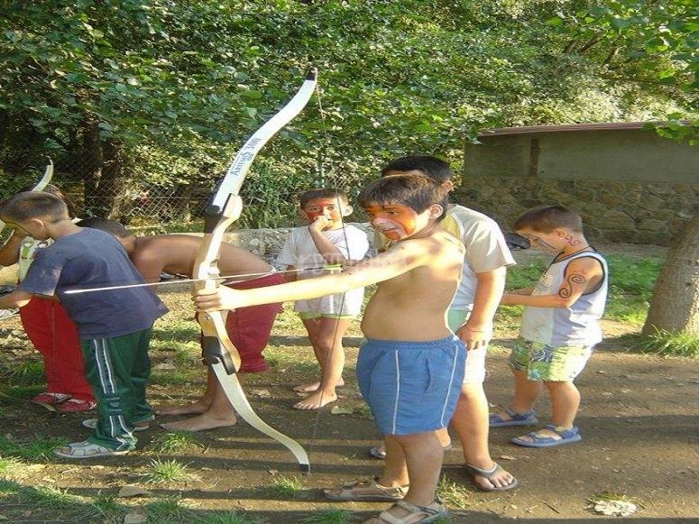 Campamento multiaventura Cáceres