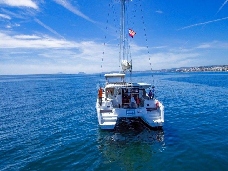 Paseo en Catamarán para 10 personas