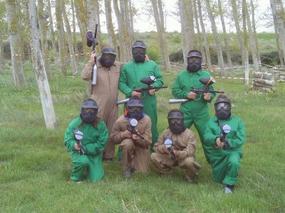Outdoor Paintball Castejon