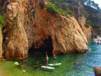 Paddle surf tour to Girona's coves