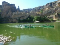 Group kayak trip in Vencías