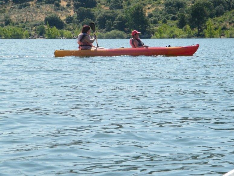 Calm waters in Burguillo