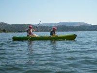 Alquiler Kayak en pantano de Burguillo 1 hora