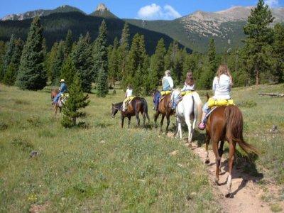 Passeggiata a cavallo attraverso la Valle dell'Iruelas 2 ore