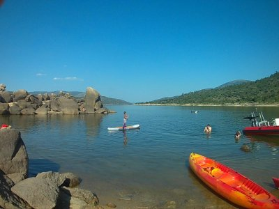 Kayak rental Burguillo reservoir 1h children