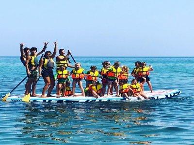 Kayak或Paddle Surf特别生日Badalona