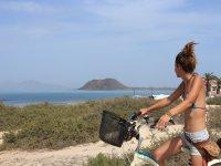 Ruta en bici volcanes Corralejo 3h y 30 min