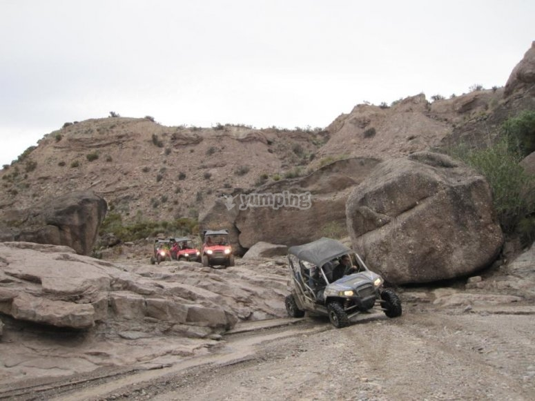 Funny off-road sections