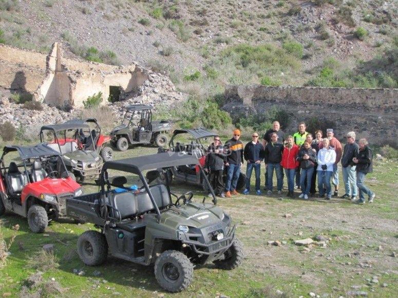 4-person buggy tour Sierra Almagrera