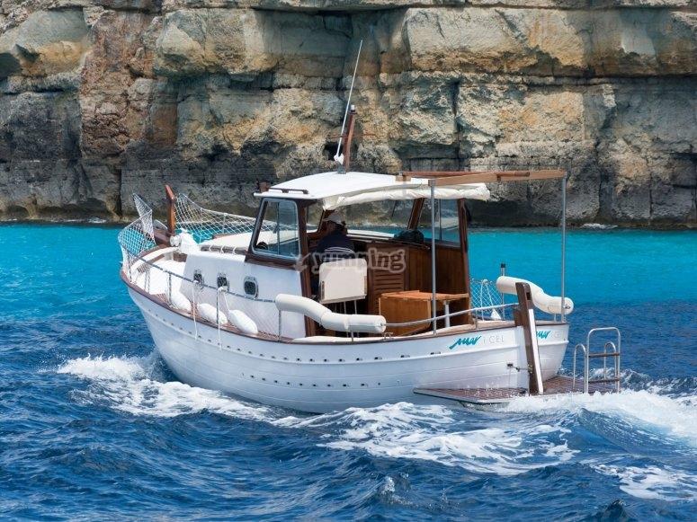 Paseo en barco por Mallorca