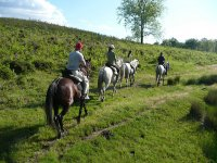 2h horse riding tour from Begur.