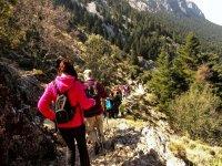 Grazalema 1 级的远足路线 El Pinsapar