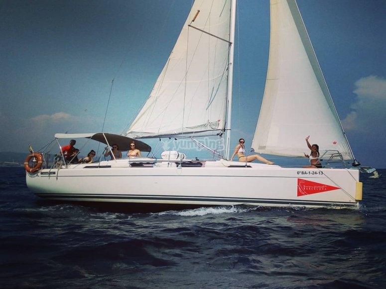 Paseo chill out en velero