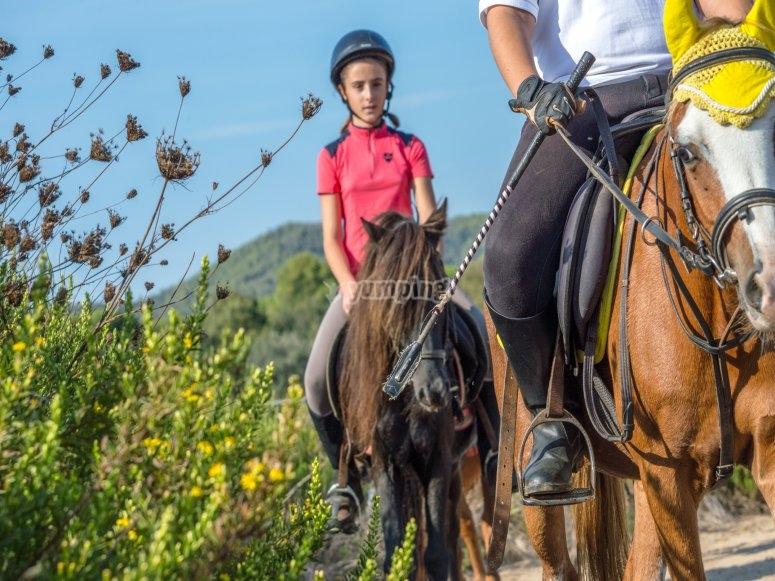 Giro in pony a Palamós