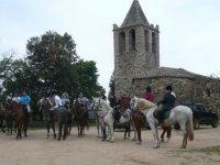 Grupo de ruta a caballo