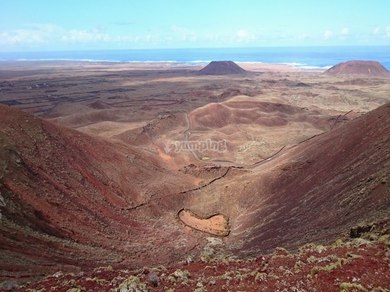 Volcán en Fuerteventura