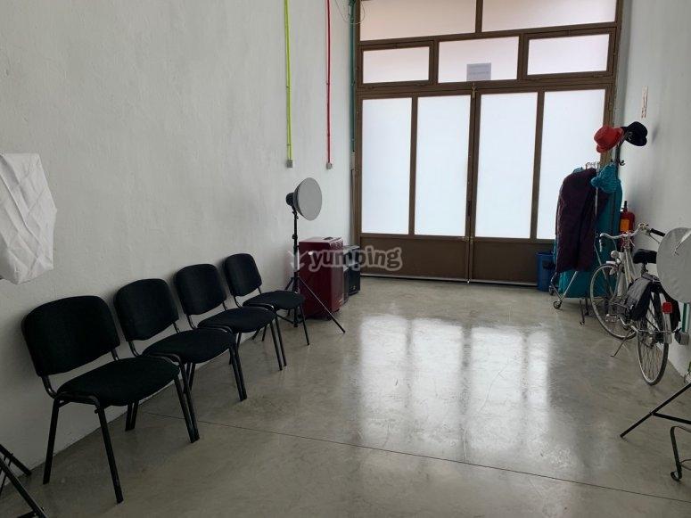 Magic workshop room