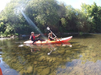 Initiation canoe descent of river Miera 2 hours