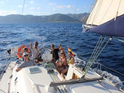 私人帆船距离Port d'Aro有4小时的车程