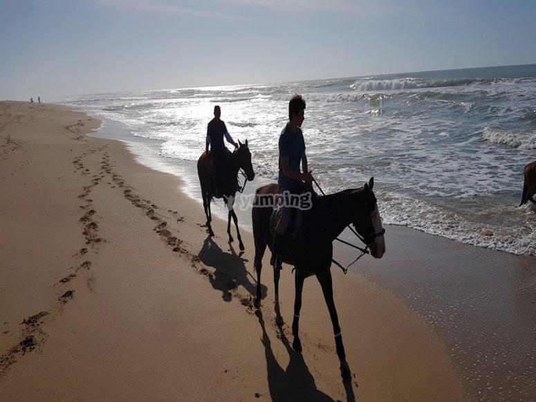 Ci godremo la spiaggia di Mangueta