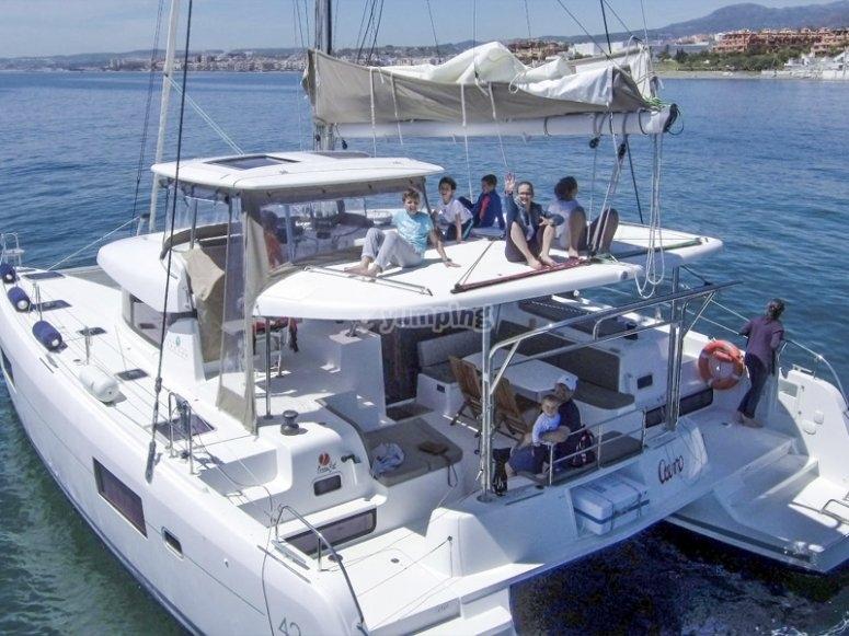 Fiesta en Catamarán Málaga