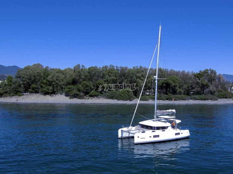 Fiesta en barco Estepona
