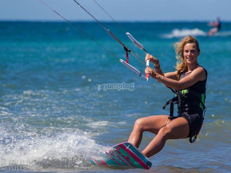Kite surf en Los Narejos