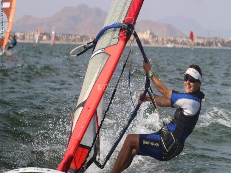 Windsurf en Los Narejos