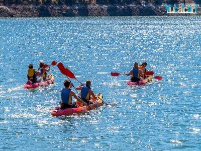 Alquiler canoa 1 hora en Pantano de San Juan