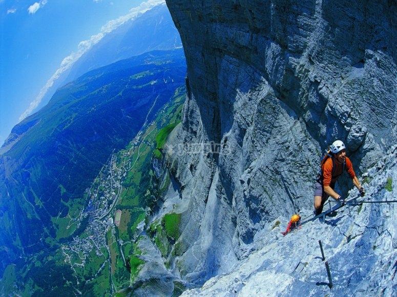 Via Ferrata ascent
