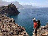 Coastering en Canarias
