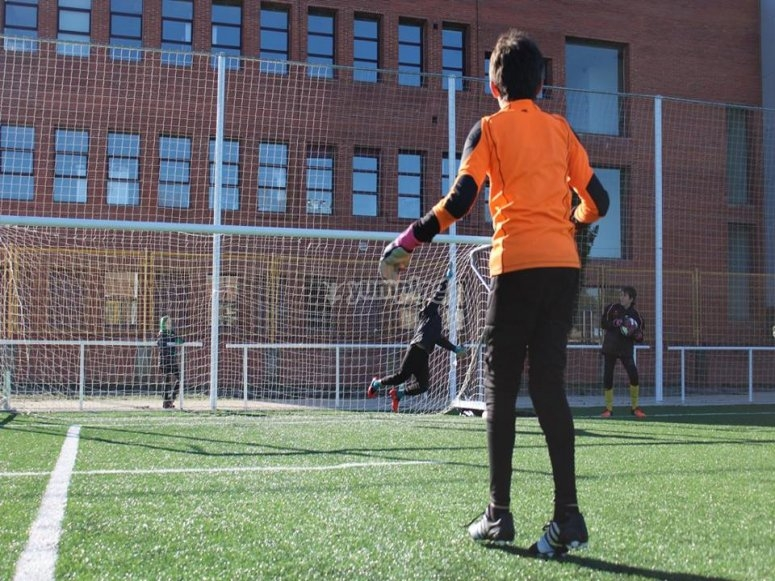 Campus de fútbol en Marbella 7 días