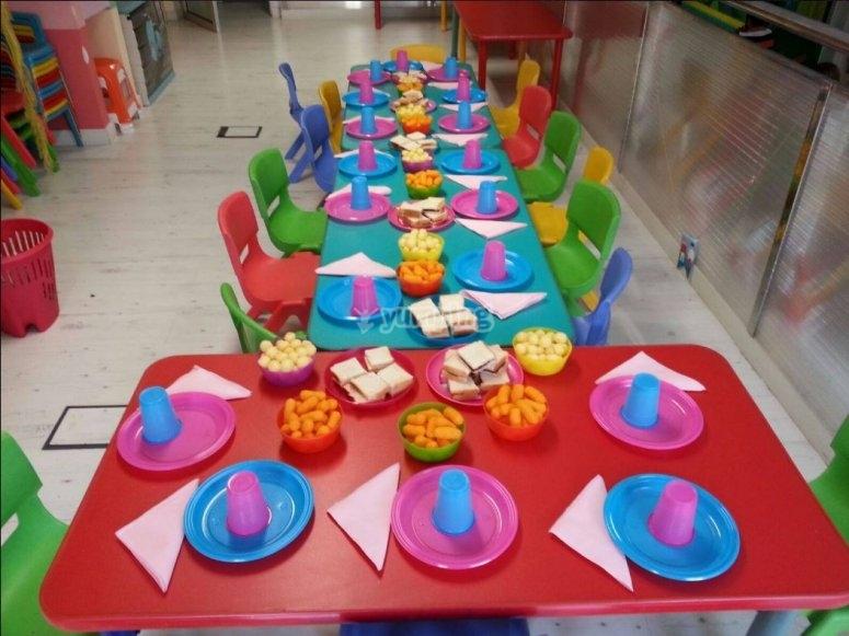 Mesa para almorzar