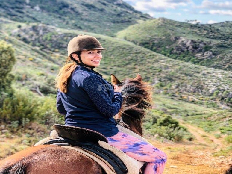 A lomos del caballo por el Cavall