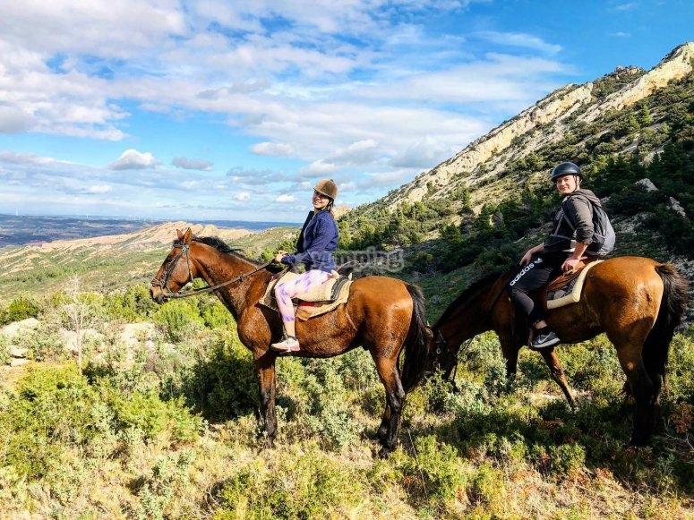 Diversión a caballo en Tarragona