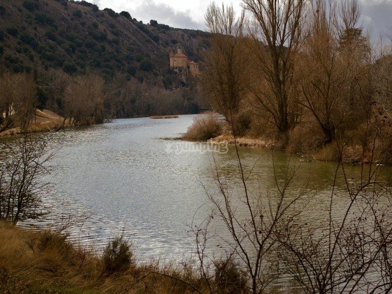 Río Duero a caballo