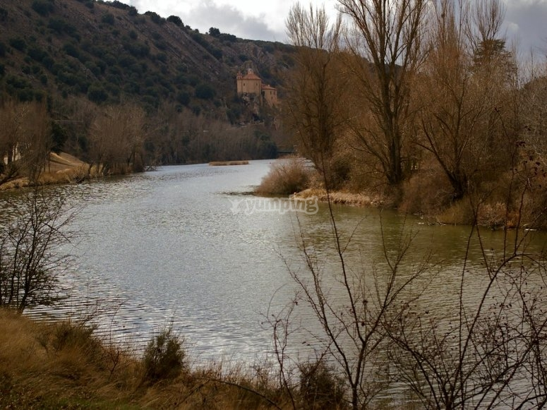 Río Duero on horseback