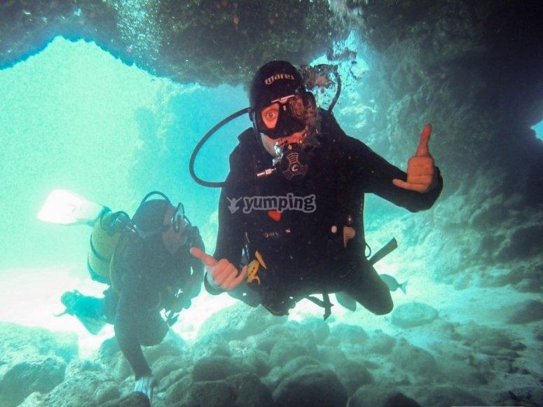 Descubriendo el fondo de El Palmar