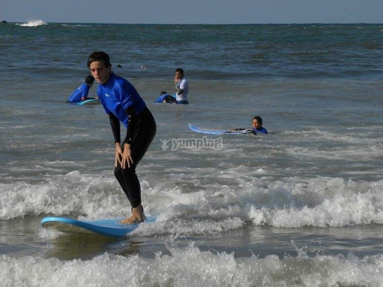 Surf a Llanes