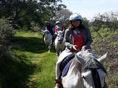 Horseback riding from Hervás 2 hours Vía Verde