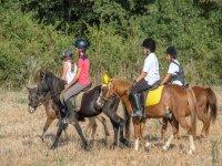 Pony Ride 30 min in Palamós